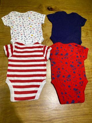 Talla 0-3 meses Pack Bodies bebe niño Primark