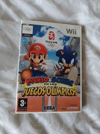 Juegos consola Wii.