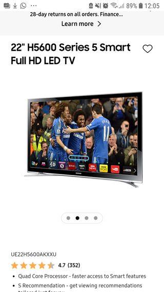 Samsung Smart TV HD LED