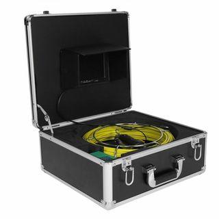 Sonda con cámara, inspección de tuberías