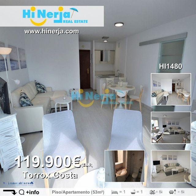 HI1480/ APARTAMENTO 1 DORMITORIO TORROX COSTA (El Peñoncillo, Málaga)