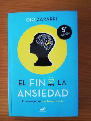 """Libro """"El fin de la ansiedad"""""""
