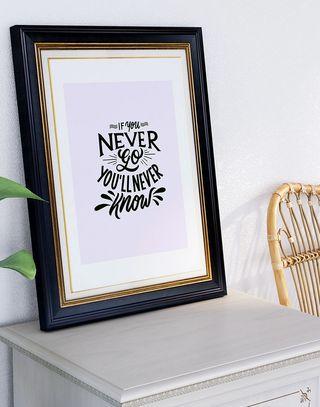 póster frase inspiración