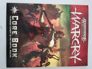libro básico de Warcry en ingles