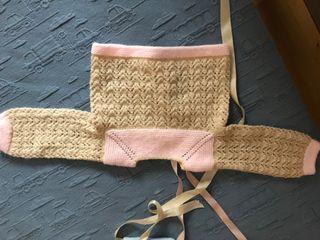 Jersey hecho a mano para recién nacido