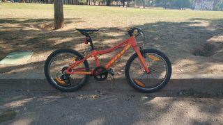 "Bicicleta niño Scott Scale Jr. 20"""