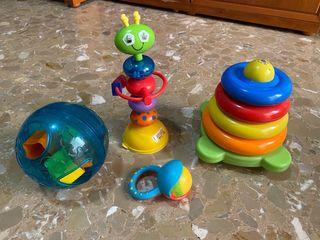 Lote juguetes bebé 6-18 meses