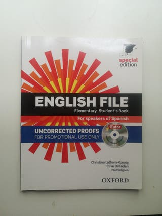 English File Elementary Students Book Oxford