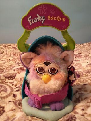 Furby y cuna Furby sueños 90'