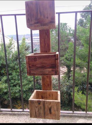 Jardinera para balcón