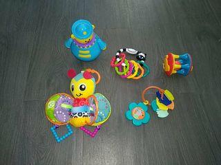 Lote juguetes estimulación bebés y niños