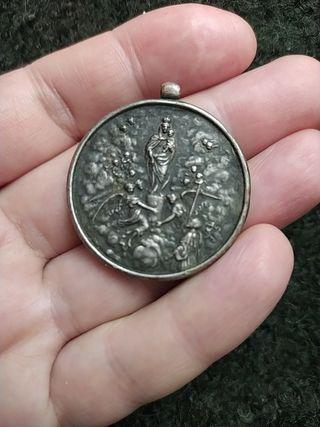 medalla del 19 centenario de la Virgen del Pilar