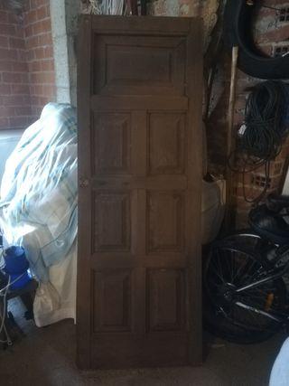 2 Puertas de Castaño macizo
