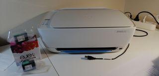Imprimante HP + 2 cartouches XL