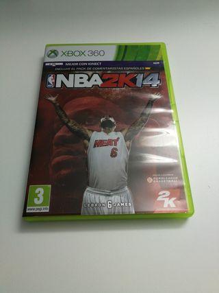 Juego XBOX 360 NBA 2K 14