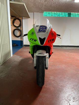 Honda cbr 600rr circuito