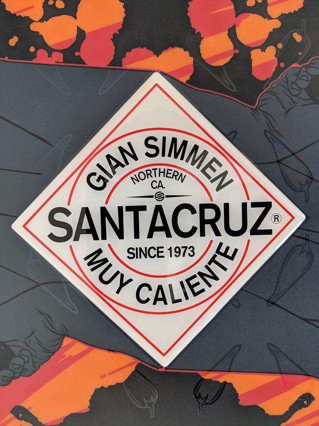 Snowboard Tabla Snow Santa Cruz Gian Simmen 157