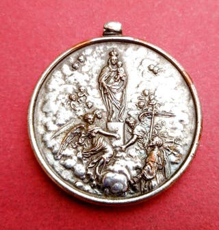 Medalla Briga Azul. Virgen del Pilar. 1940