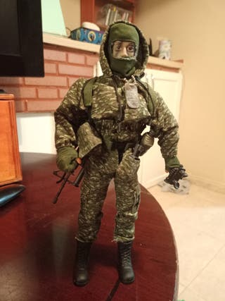 Geyperman. Militar, soldado.