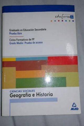 libro Graduado educación secundaria prueba libre