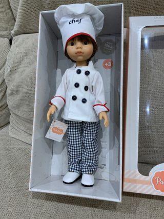 Muñeco muñeca Paola Reina nuevo