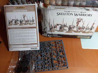 warhammer : Skeleton warriors