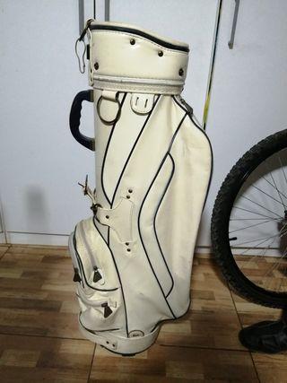 Bolsa de golf Marca Mizuno con 4 palos de golf