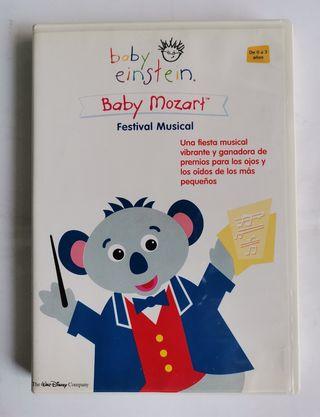 Baby Einstein baby Mozart festival musical dvd