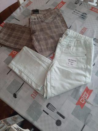 Lote dos pantalones talla 40