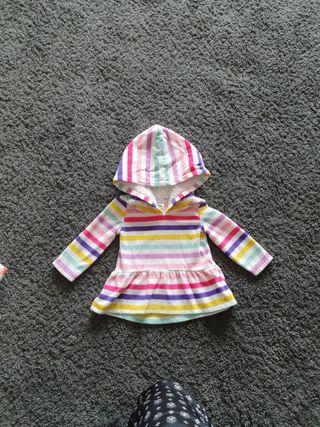 Vestido de inverno niña 9 meses