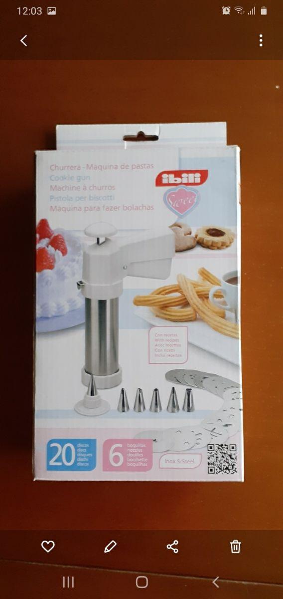 churrera - máquina de pastas Ibili