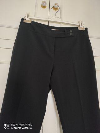 Pantalón pierna ancha El Corte Inglés. talla 42