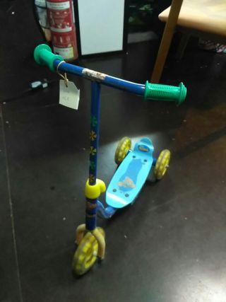 patinete niño tres ruedas nº204