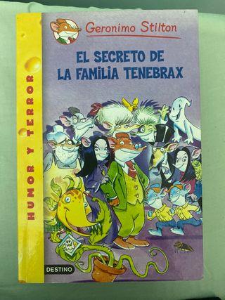 Geronimo Stilton.El secreto de la familia Tenebrax
