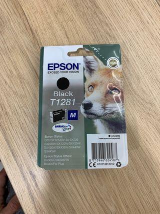 Tinta impresora EPSON Black T1281