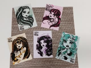 Photocards Monster High