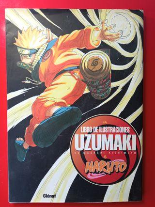 Libro ilustraciones Naruto Uzumaki