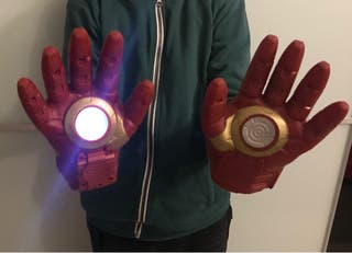 Guantes Iron Man Niño
