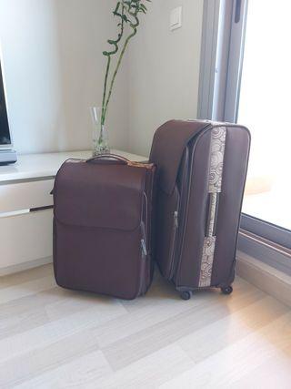 Juego de dos maletas