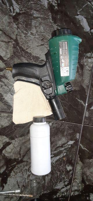 pistola chorro de arena
