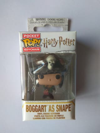 Llavero Pocket Pop Snape es Boggart