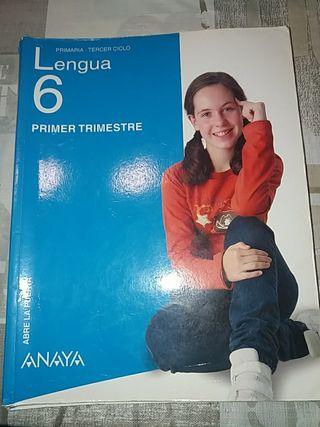Lengua 6 Primaria ANAYA