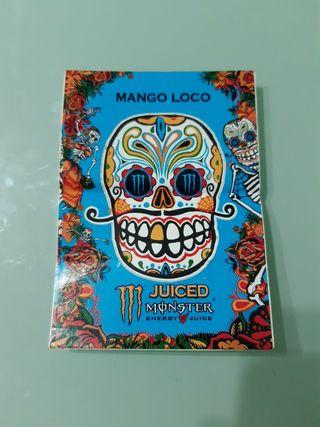 Pegatina Mango Loco Monster Energy Juiced