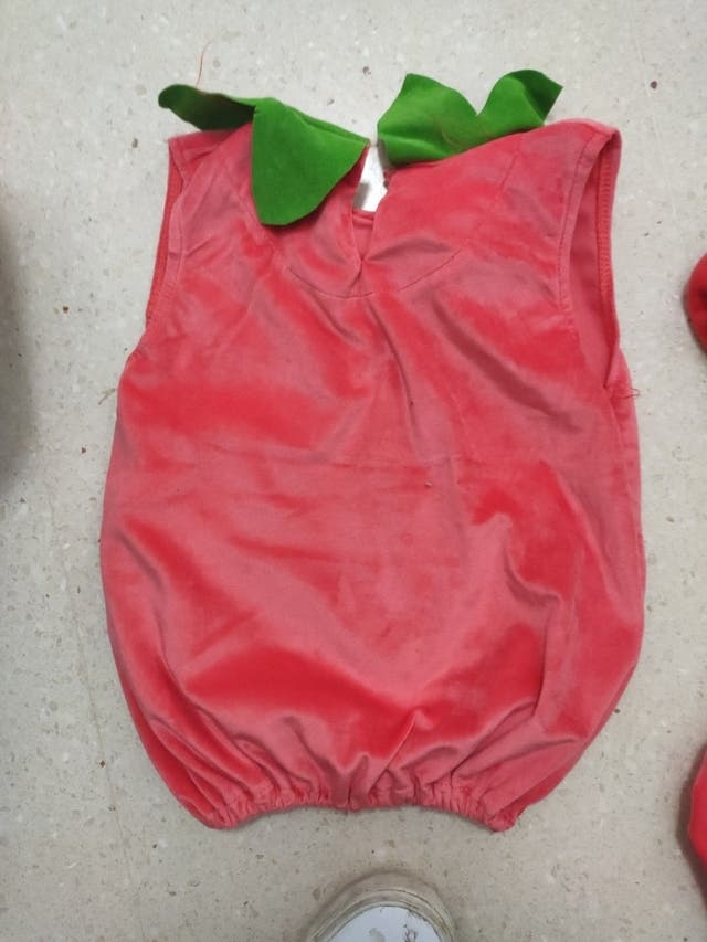 Disfraz de calabaza de Halloween bebé