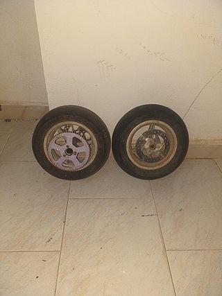 ruedas minimoto
