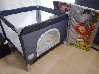 Parque infantil/ Cuna de viaje con colchón