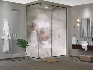 Cabina simple baño turco con instalación