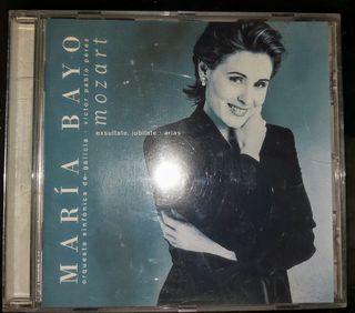 cd de música original María Bayo