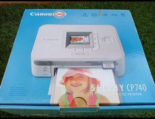 Impresora fotografía canon