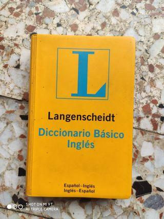 Diccionario básico de inglés